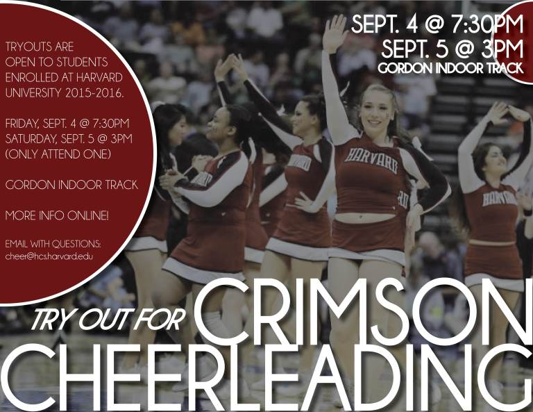 2015-2016 Tryout Poster